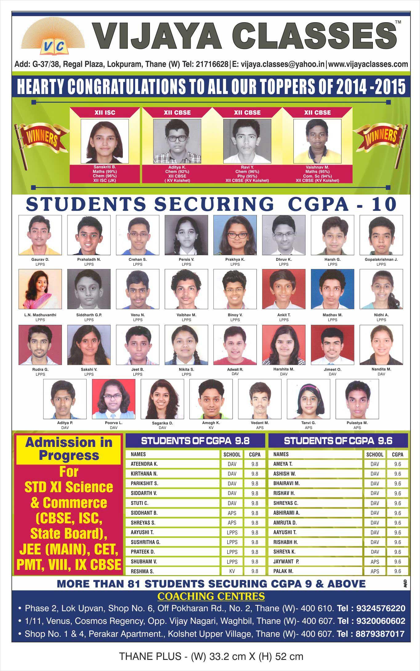Vijaya-Classes